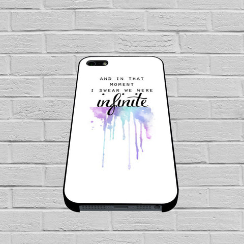 And In That Moment I Swear We Were Infinite The Perks of Being a Wallflower case of iPhone case,Samsung Galaxy