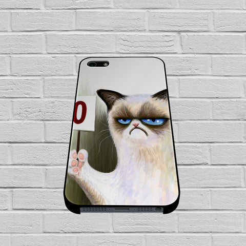 Angry Cat Grumpy case of iPhone case,Samsung Galaxy