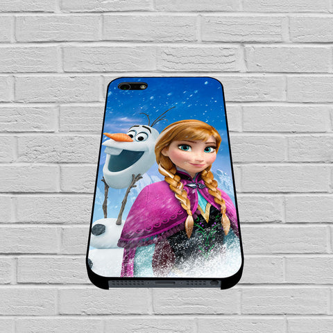 Anna and Olaf case of iPhone case,Samsung Galaxy