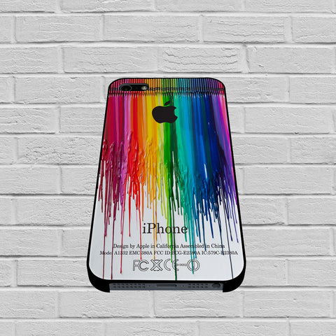 Apple Crayon Dripping case of iPhone case,Samsung Galaxy