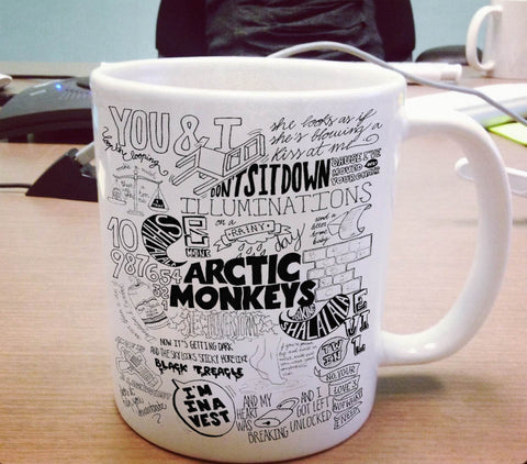 Arctic Monkeys Ceramic Mug