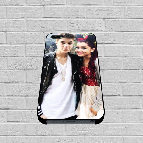 Ariana Grande Justin Bieber case of iPhone case,Samsung Galaxy