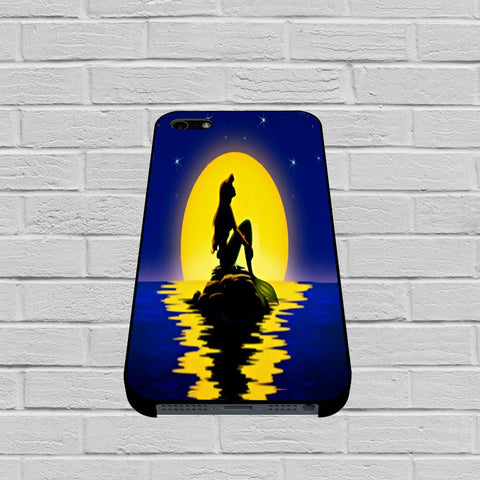Ariel In The Moon Light case of iPhone case,Samsung Galaxy