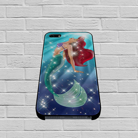 Ariel Little Mermaid Galaxy case of iPhone case,Samsung Galaxy