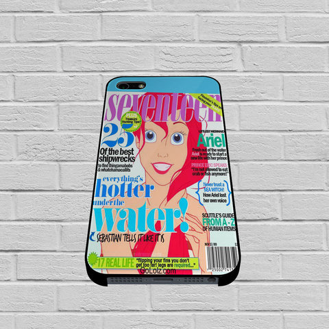 Ariel Seventeen Cover case of iPhone case,Samsung Galaxy
