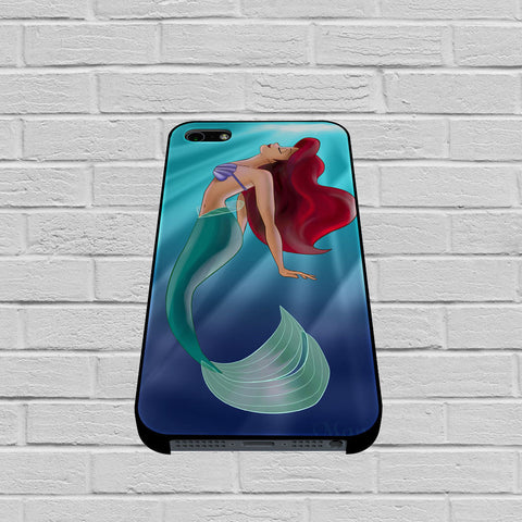 Ariel The Little Mermaid On Tiffany Blue case of iPhone case,Samsung Galaxy