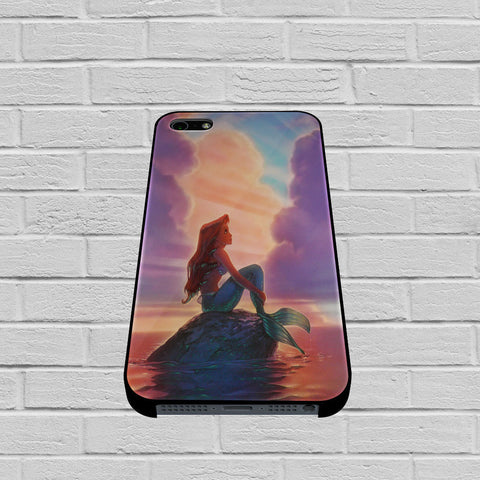 Ariel The Little Mermaid Sunset case of iPhone case,Samsung Galaxy