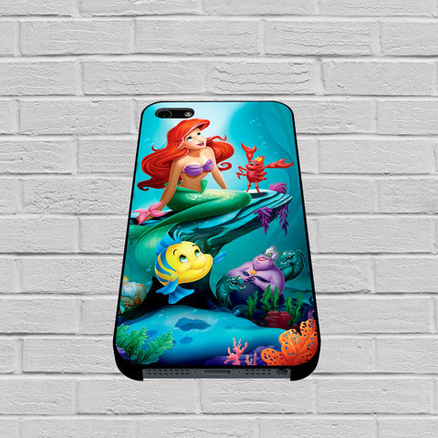 Ariel The Little Mermaid and Friends case of iPhone case,Samsung Galaxy