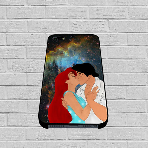Ariel and Eric Kissing On The Space case of iPhone case,Samsung Galaxy