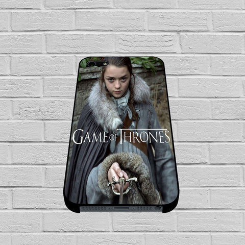Arya Stark game of throne,winter is coming case of iPhone case,Samsung Galaxy