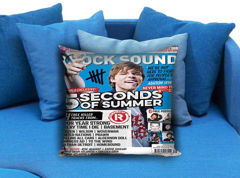 Ashton Irwin 5 Second Of Summer Rock Sound Pillow case