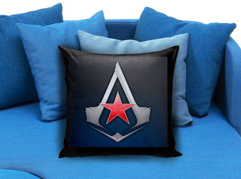 Assassins Creed Game Logo Pillow case