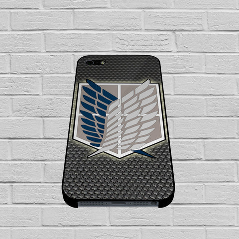 Attack Of Titans, Scouting Legion Logo case of iPhone case,Samsung Galaxy