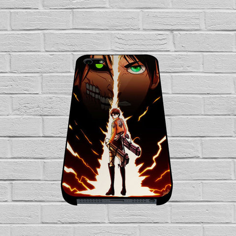 Attack On Titan Eren Yeager case of iPhone case,Samsung Galaxy
