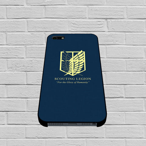 Attack On Titans Scouting Legion Design case of iPhone case,Samsung Galaxy