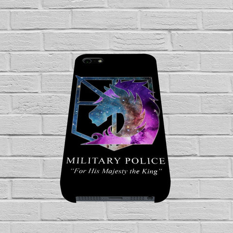 Attack on Titan Military Police case of iPhone case,Samsung Galaxy