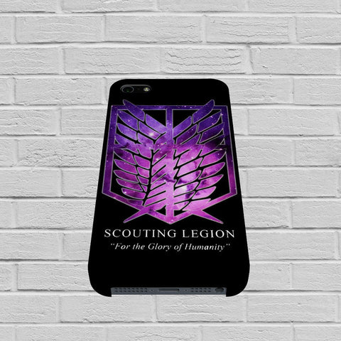 Attack on Titan Scouting Legion Galaxy case of iPhone case,Samsung Galaxy