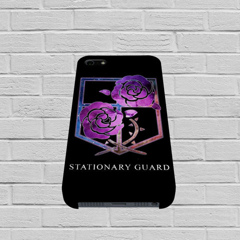 Attack on Titan Stationary Guard case of iPhone case,Samsung Galaxy