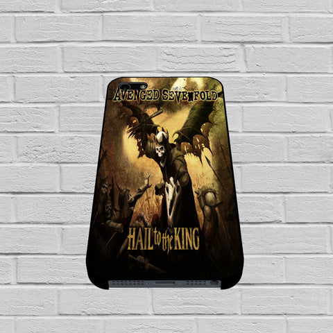 Avenged Sevenfold Hail To The King Cover case of iPhone case,Samsung Galaxy