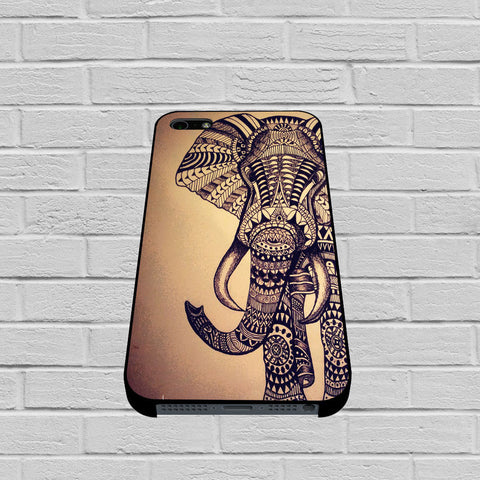 Aztec Elephant case of iPhone case,Samsung Galaxy