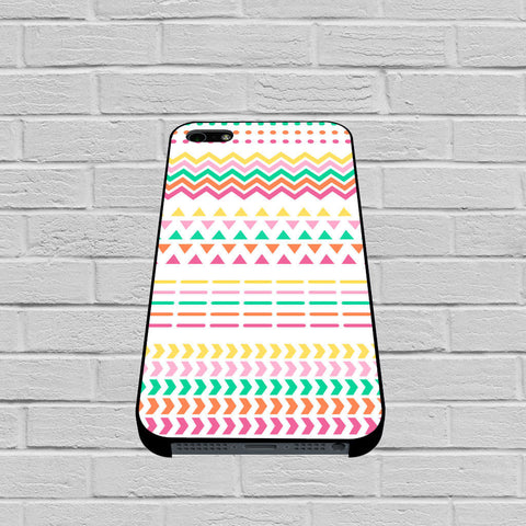 Aztec Geometric Tribal Pink Orange White case of iPhone case,Samsung Galaxy
