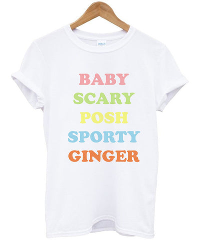 BABY SCARY POSH SPORTY GINGER tshirt