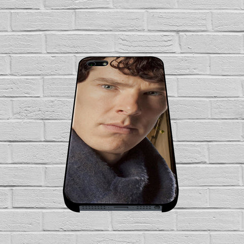 BBC Sherlock Benedict Cumberbatch Hipster case of iPhone case,Samsung Galaxy