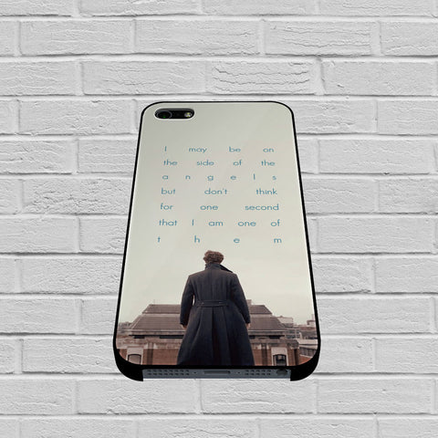 BBC Sherlock Quote Benedict Cumberbatch case of iPhone case,Samsung Galaxy