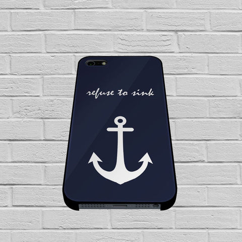 BON0418Anchor Refuse to Sink case of iPhone case,Samsung Galaxy