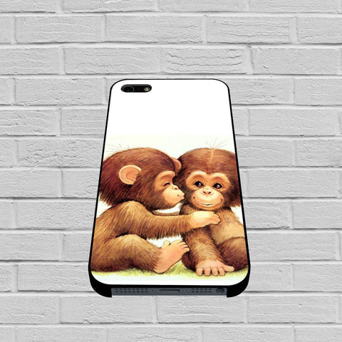 Baby Monkeys case of iPhone case,Samsung Galaxy