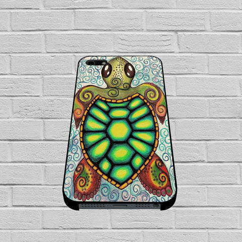 Baby Turtle Under The Sea Art case of iPhone case,Samsung Galaxy