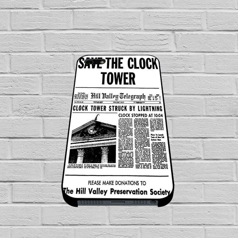 Back to the Future Save the Clock Tower case of iPhone case,Samsung Galaxy