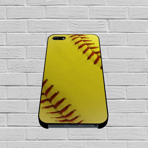 Ball Baseball Yelow case of iPhone case,Samsung Galaxy