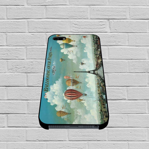 Ballooning Over Paris case of iPhone case,Samsung Galaxy