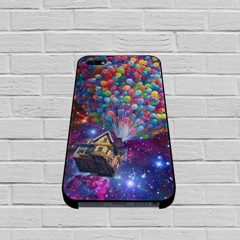 Balloons Flying House in Galaxy Nebula case of iPhone case,Samsung Galaxy