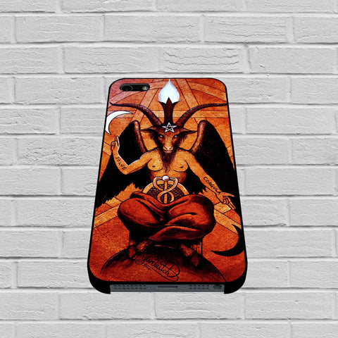 Baphomet case of iPhone case,Samsung Galaxy