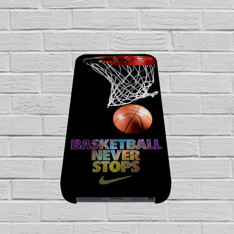Basketball Never Stop case of iPhone case,Samsung Galaxy