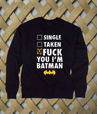 Batman Fuck Batman sweatshirt