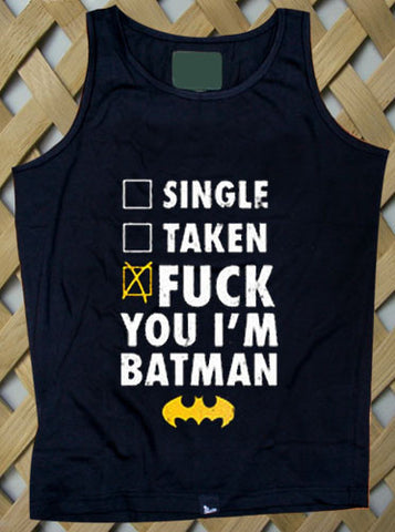 Batman Fuck Batman Tank top
