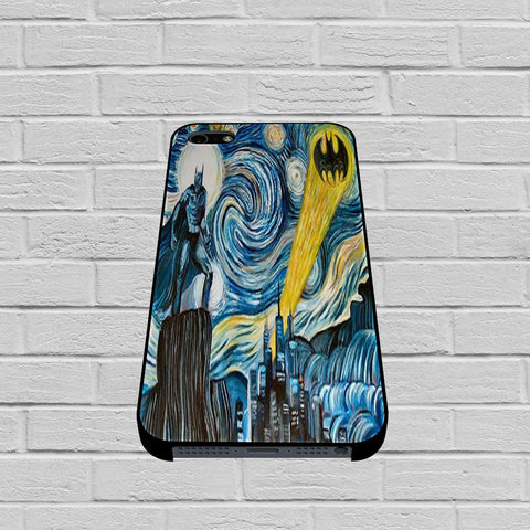 Batman invades Van Gogh's case of iPhone case,Samsung Galaxy