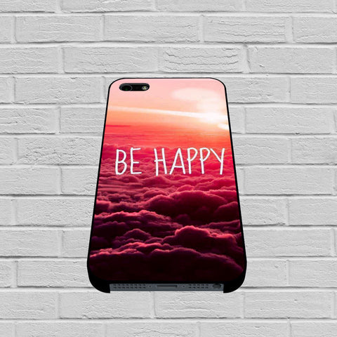 Be Happy case of iPhone case,Samsung Galaxy