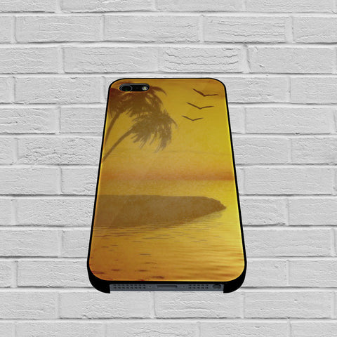 Beach Sunset case of iPhone case,Samsung Galaxy