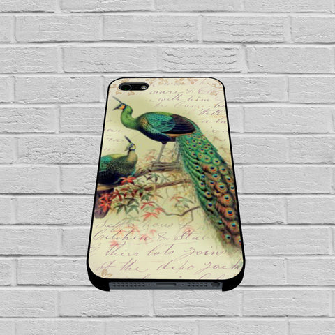 Beautiful Peacock Collage case of iPhone case,Samsung Galaxy