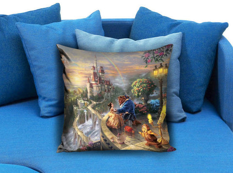 Beauty and The Beast Custom Pillow Case