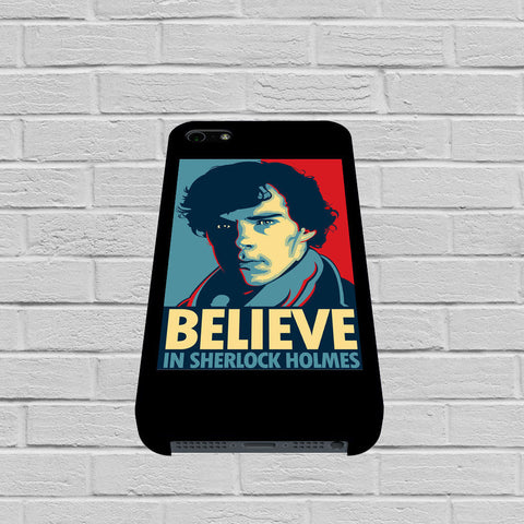 Believe In Sherlock Holmes case of iPhone case,Samsung Galaxy