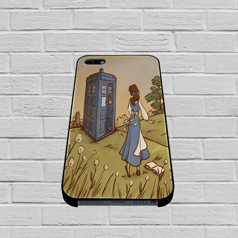 Belle Tardis case of iPhone case,Samsung Galaxy