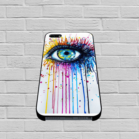 Big Eye Watercolor case of iPhone case,Samsung Galaxy