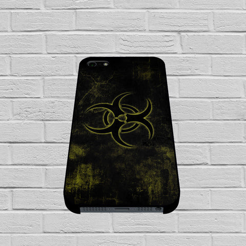 Biohazard Dark Logo case of iPhone case,Samsung Galaxy