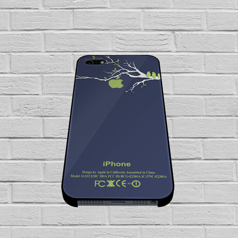 Birds In Green Apple Tree Branch case of iPhone case,Samsung Galaxy
