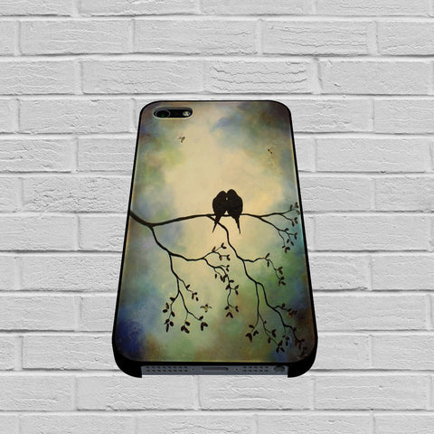 Birds In Tree Branch case of iPhone case,Samsung Galaxy